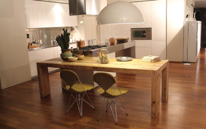 Minimalistic modern apartment